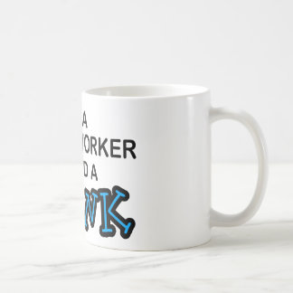 Need a Drink - Social Worker Basic White Mug