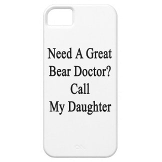 Need A Great Bear Doctor Call My Daughter Case For iPhone 5/5S