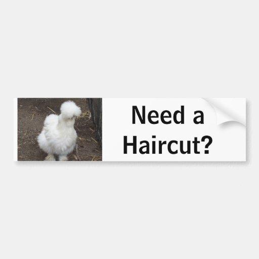 Need a Haircut? Bumper Sticker