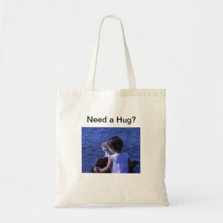 Need a Hug Kitten shopping bag