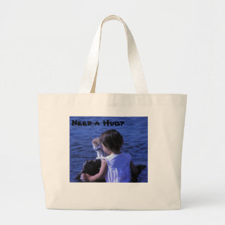 Need a Hug? Shopping Bag with Kitten