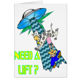 Need a Lift? Greeting Card