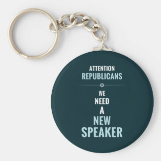 Need A New Speaker Keychains
