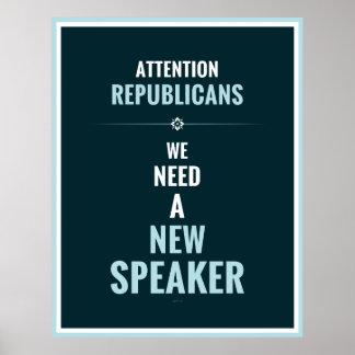 Need A New Speaker Print