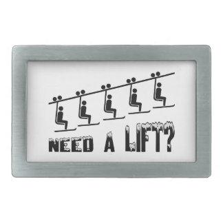 Need A Ski Lift Belt Buckle
