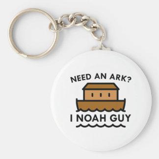 Need An Ark? I Noah Guy. Key Ring