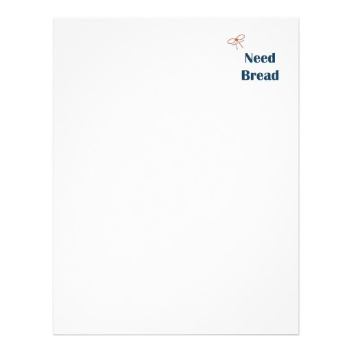 Need Bread Reminders Flyer