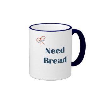 Need Bread Reminders Ringer Mug