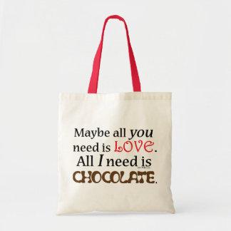 Need Chocolate Tote Bag
