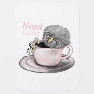 Need Coffee Baby Blanket