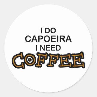 Need Coffee - Capoeira Sticker
