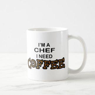 Need Coffee - Chef Basic White Mug