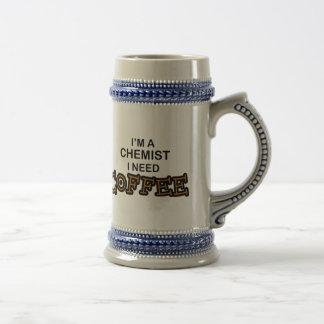 Need Coffee - Chemist Beer Stein
