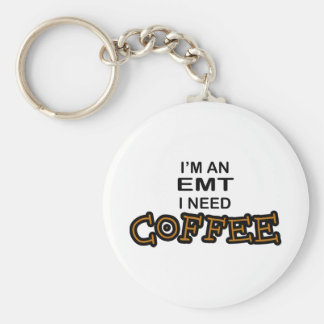Need Coffee - EMT Key Ring