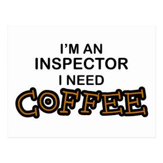 Need Coffee - Inspector Postcard