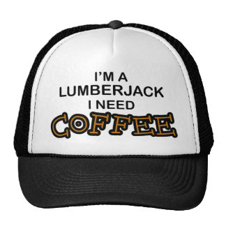 Need Coffee - Lumberjack Mesh Hat