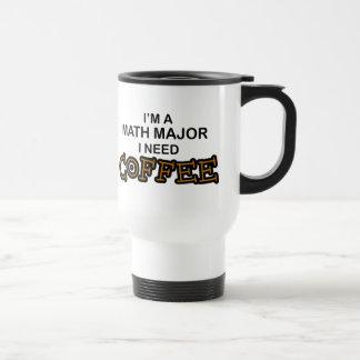 Need Coffee - Math Major Travel Mug