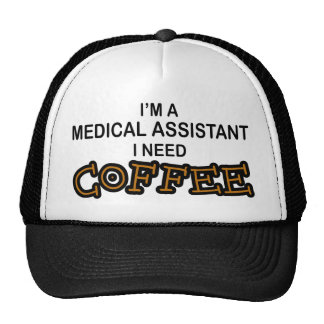 Need Coffee - Medical Assisant Mesh Hats