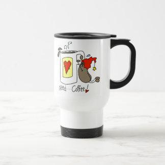 Need Coffee Stick Figure Coffee Bean Mug