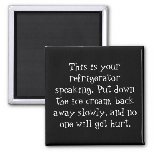 Need Gentle Persuasion to Stick to the Diet? Fridge Magnets