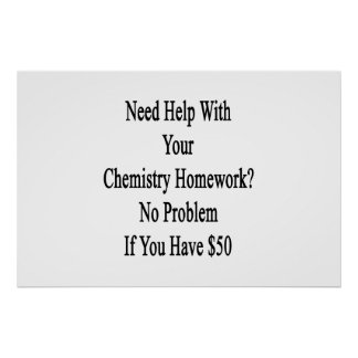 Need help with my chemistry homework