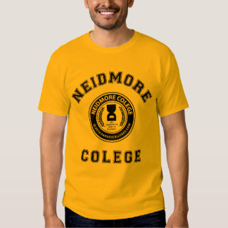 """Need more college"" Tees"