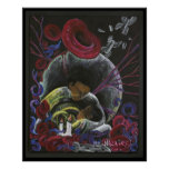Need not Suffer Alone - Sickle Cell Art Print