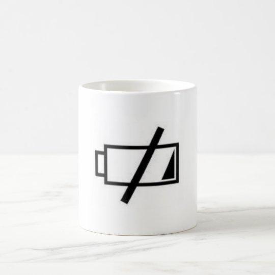 NEED TO RECHARGE COFFEE MUG