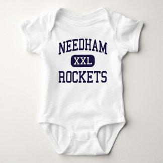 Needham - Rockets - High - Needham Massachusetts Baby Bodysuit