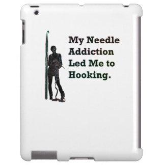 Needle Addiction iPad Case