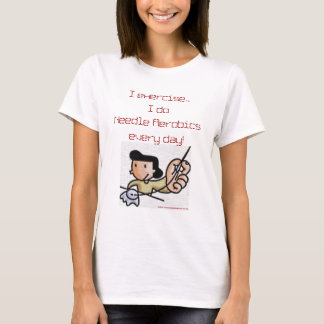 Needle Aerobics Ladies T-shirt