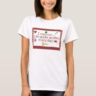 Needle Aerobics T-Shirt