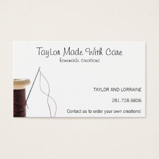 Needle and Thread Business Card