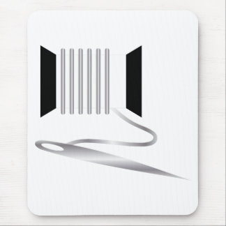 Needle and Thread Mouse Pads