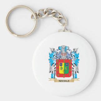 Needle Coat of Arms - Family Crest Key Chains