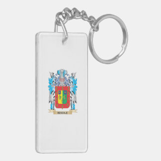 Needle Coat of Arms - Family Crest Acrylic Key Chains