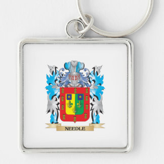 Needle Coat of Arms - Family Crest Keychains