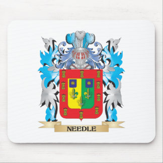 Needle Coat of Arms - Family Crest Mousepad