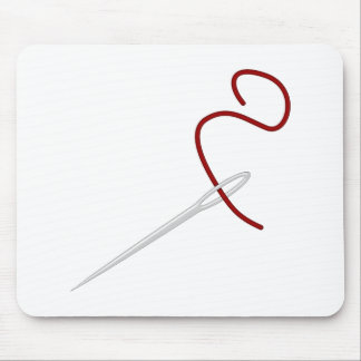 Needle thread needle thread mouse pads