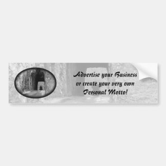 Needles Highway Tunnel Bumper Sticker