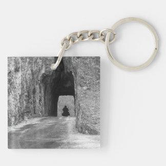 Needles Highway Tunnel Acrylic Keychain