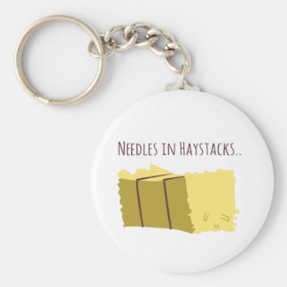 Needles In Haystacks Keychain