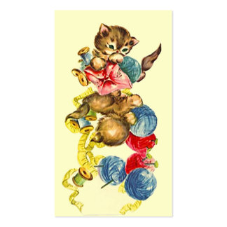 NEEDLEWORK DONE BY GIFTS GIFT TAGS BUSINESS CARDS
