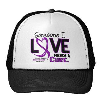 NEEDS A CURE 2 CROHN'S DISEASE T-Shirts & Gifts Cap