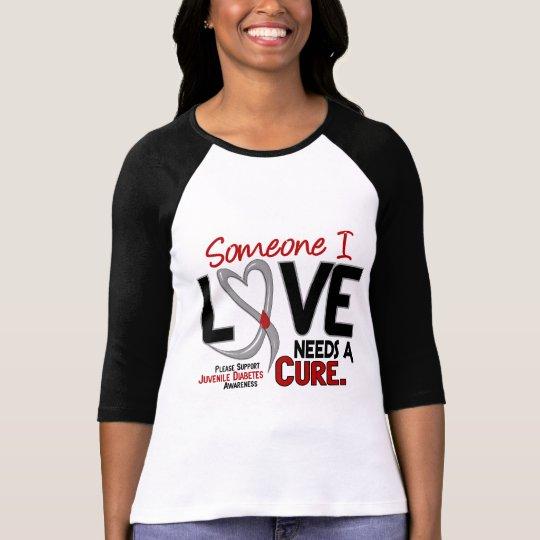 NEEDS A CURE 2 JUVENILE DIABETES T-Shirts &