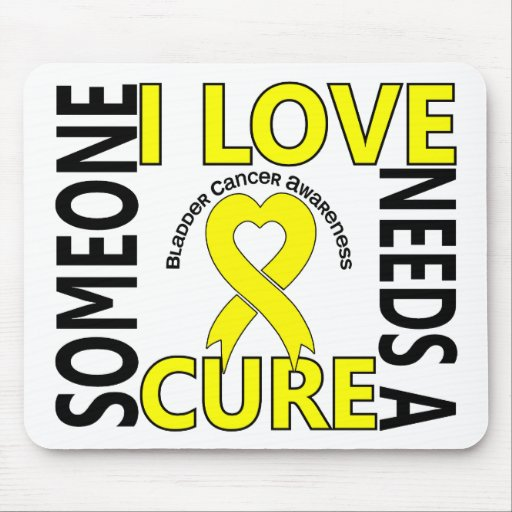 Needs A Cure 4 Bladder Cancer Mouse Pad