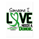 NEEDS A DONOR 2 ORGAN DONATION T-Shirts Postcard