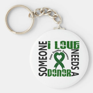 Needs A Donor 4 Organ Donation Keychain