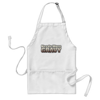 Needs More Gravy Standard Apron
