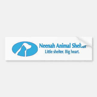 Neenah Animal Shelter Bumper Sticker Car Bumper Sticker